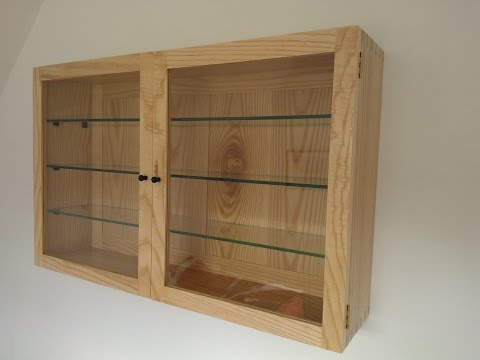 Making an Ash Display Cabinet + Lessons Learned