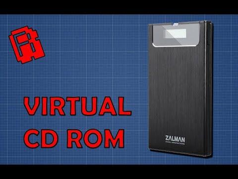 USB Virtual CD Drive Review   Zalman ZM-VE350