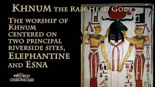 Download Khnum the Ram Head God, the Neter of Water and Fertility Video