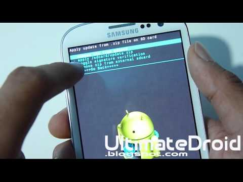 How to Install Custom ROMS on Galaxy S3!