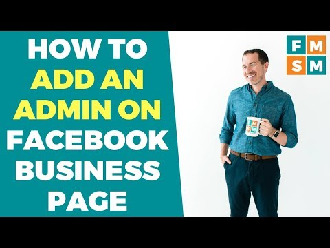 How To Add Admin On Facebook Business Page