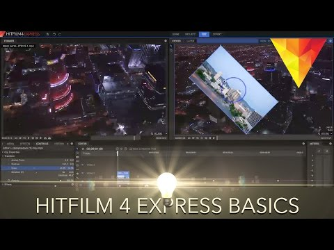 Hitfilm 4 Express Beginner's Tutorial - Adding video, music, effects, text and exporting