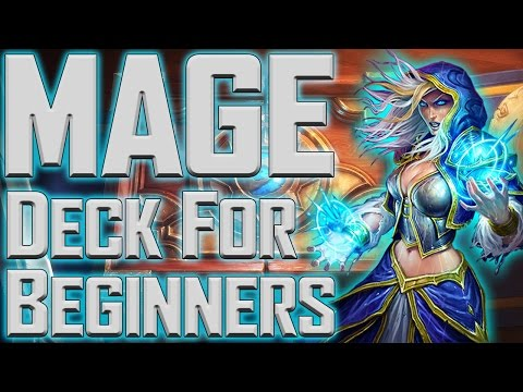 Hearthstone- Good Mage Deck For Beginners!!!
