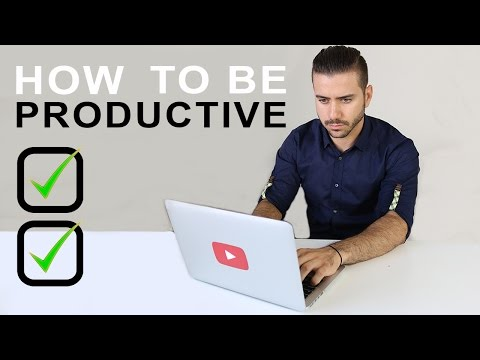 HOW TO BE PRODUCTIVE | STAY MOTIVATED AND ORGANIZED | ALEX COSTA