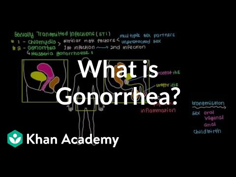 What is gonorrhea? | Infectious diseases | NCLEX-RN | Khan Academy