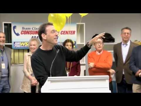 Clark Howard opens the new Consumer Action Center