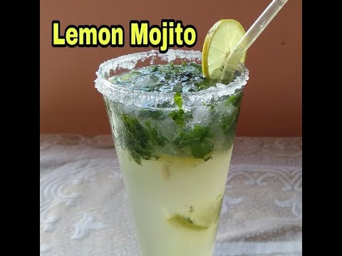 McDonald & KFC style Lemon Mojito in just 2 min Recipe In Hindi ( लेमन  मोजिटो)