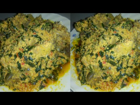 HOW TO / PREPARE EGUSI + UZIZA SOUP IN A SNAP // NIGERIAN SOUP