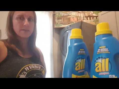 Commercial detergent vs. homemade laundry soap