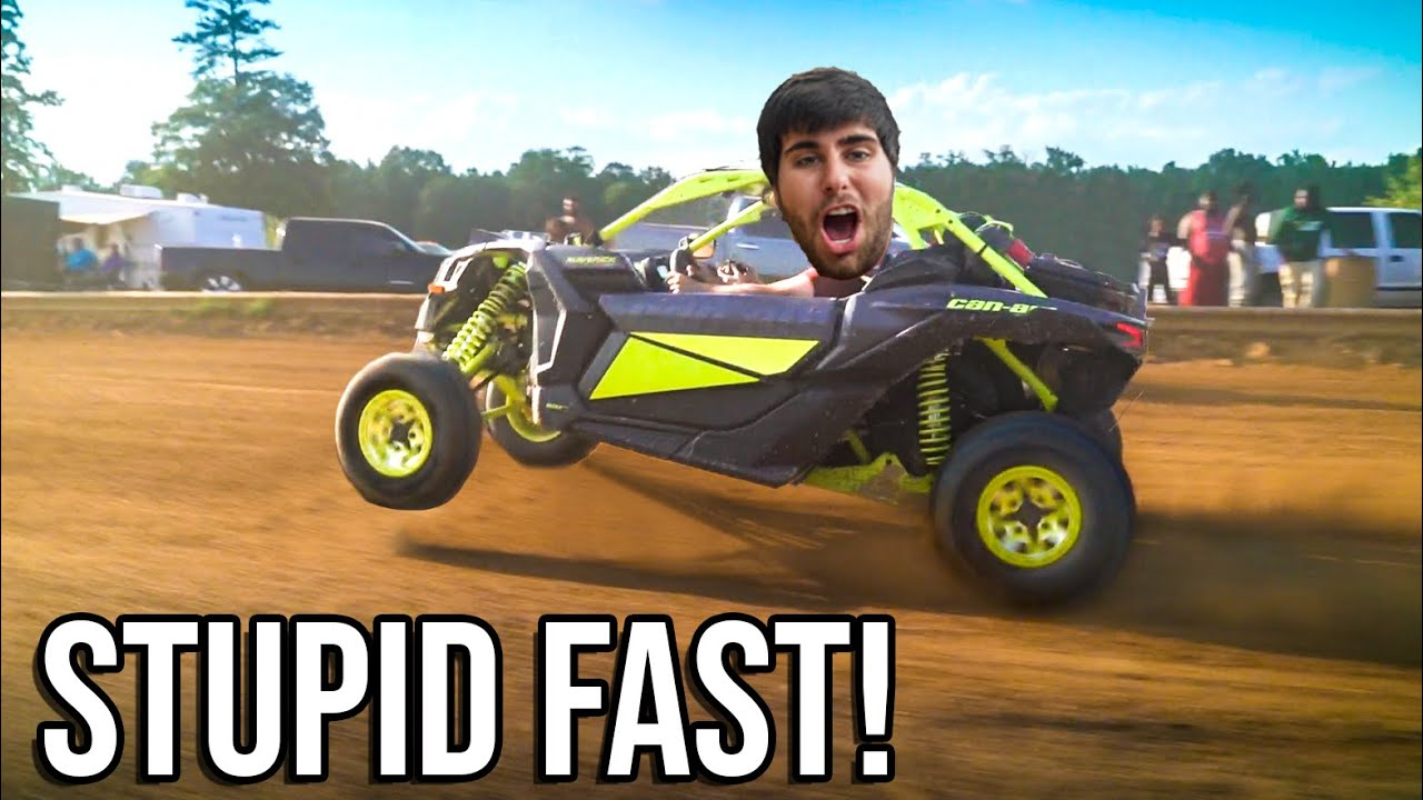 DRAG RACING MY NEW CAN-AM X3! Cody SWAMPED his RENEGADE!