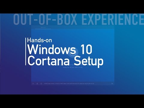 Windows 10 Creators Update: Cortana guided out-of-box experience (OOBE)