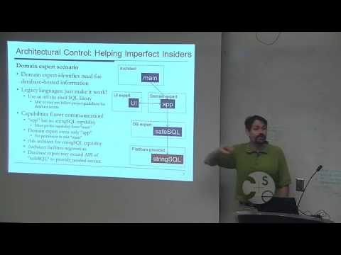 PLSE Seminar Series J. Aldrich