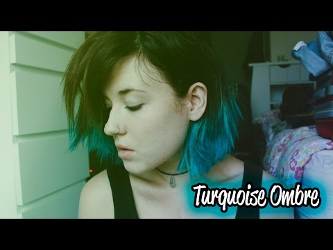 Turquoise Ombre | Kylie Jenner Inspired Hair