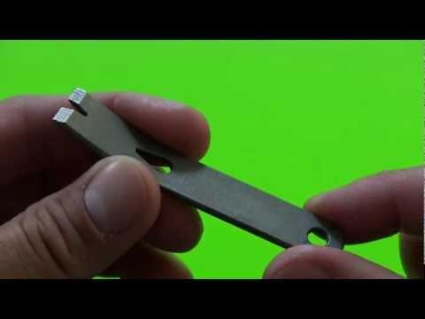 Tool and EDC Review: EOD Robotics Micro Widgy 3