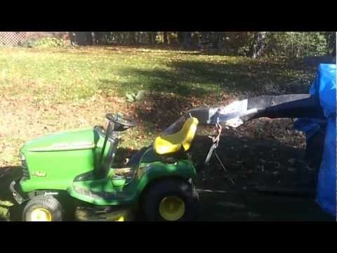 Home made leaf collector