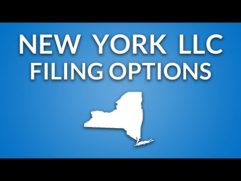 New York LLC - Formation Documents (overview)