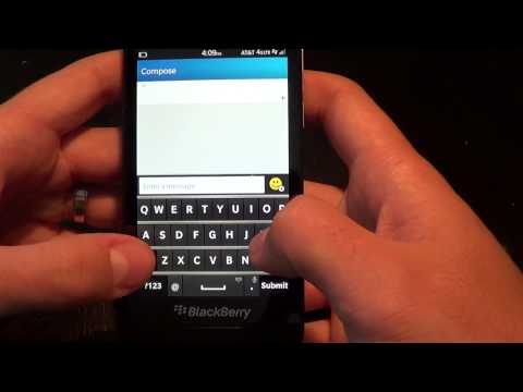 Text Messaging on BlackBerry 10