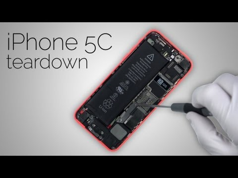 iPhone 5C Teardown - Complete step by step disassembly