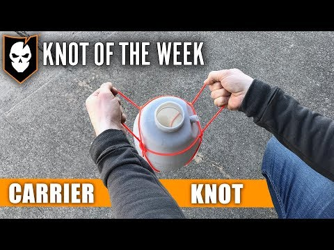 Hastily Carry Objects Using the Carrier Knot – Knot of the Week HD
