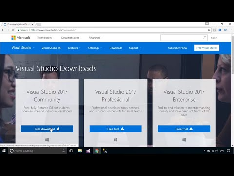 Download and Install Visual Studio 2017 | FoxLearn