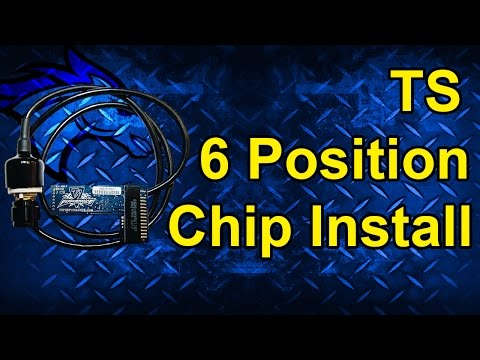 TS 6 Position Chip Install: 99-03 Ford Powerstroke 7.3L | Different for 95-97