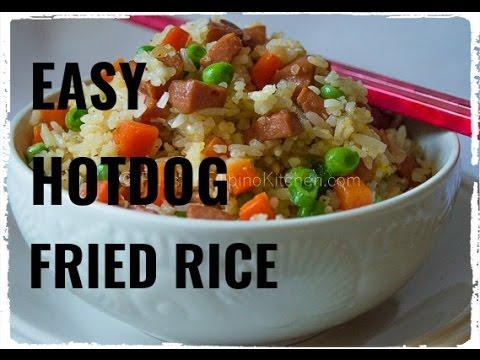 Easy Hotdog Fried Rice