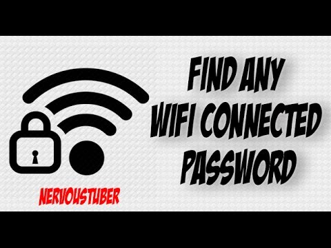 How To Find Your Any WiFi Connected Password