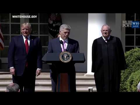 Neil Gorsuch Sworn In As Supreme Court Justice