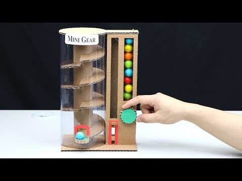 How to Make Vending Machine with Gumball
