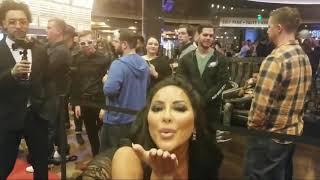 AVN Awards 2019 Red Carpet Fan Favorite feat.  Kiara Mia a.k.a. Deanne Munoz
