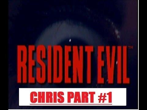 Resident Evil 1 Chris Part1 Rebecca Chambers