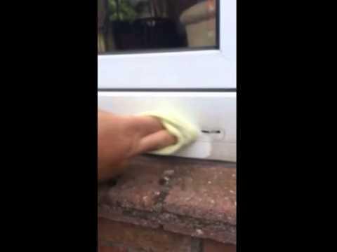 Deep Cleaning UPVC Windows