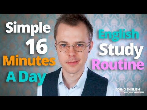 A Super-minimal 7-day English Study Routine to Supercharge Your Speaking in Just a Few Minutes a Day