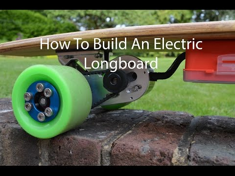 How To Build An Electric Longboard Controlled With A Smartphone
