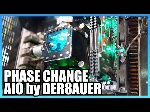 Phase-Change Cooler & Novec Cooling | Der8auer Phase-Shift Cooler