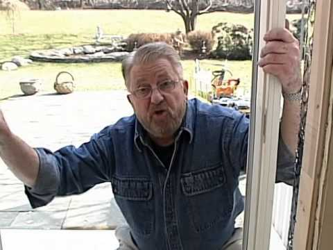 How to Install a Sliding Patio Door
