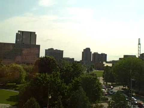 View Our of Lord Elgin Hotel in Ottawa, Canada