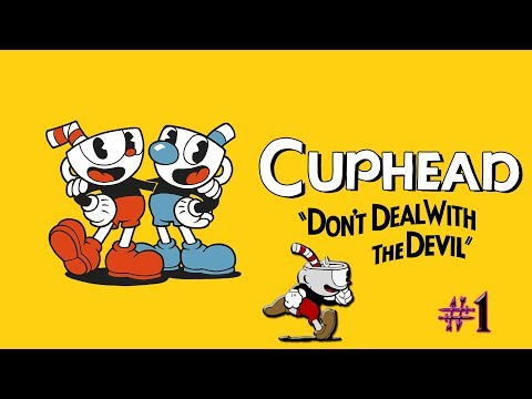 I WILL GET ANGRY AT THIS GAME BUT IT'S SO BEAUTIFUL | Cuphead - Part 1