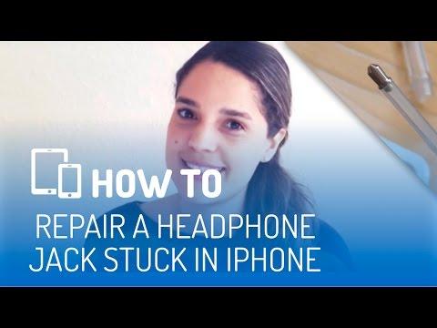 How to repair a headphone jack stuck in iPhone/iPad/iPod/Macbook/Laptop!