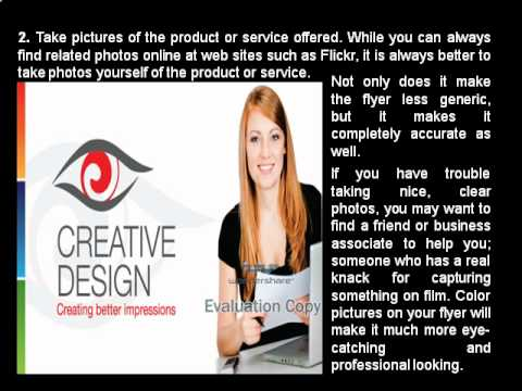 How to create business flyers