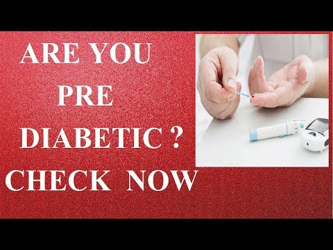 ARE YOU PRE-DIABETIC ? CHECK NOW ! | HOW TO REVIVE PREDIABETES