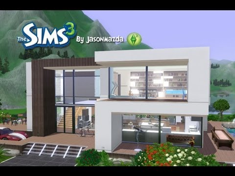 The Sims 3 House Designs - Modern Villa