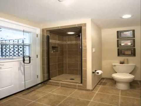 Creative Basement bathroom design ideas