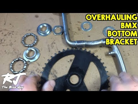 Overhaul BMX Bottom Bracket with One Piece Crank Set