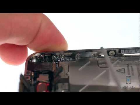 Audio Jack, Volume & Silent Button Repair - iPhone 4 How to Tutorial