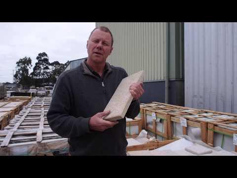 Granite Topaz Pavers for Australian gardens