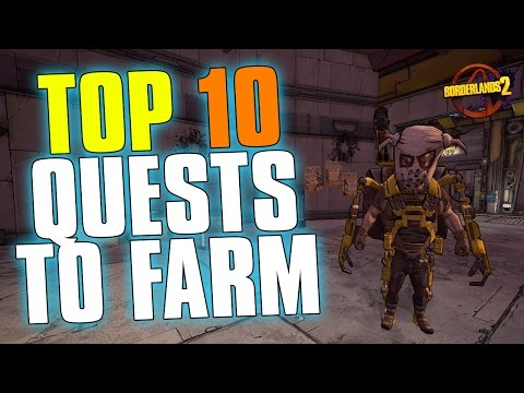 Top 10 Side Quests to Farm | Borderlands 2