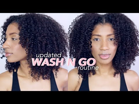 7-DAY Wash n Go Routine on 3B/C Natural Hair - 2018 Update !!