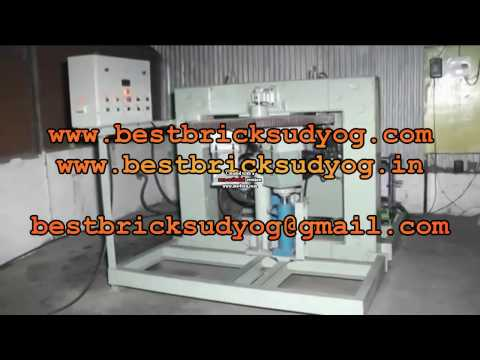 Rotary Fly Ash Bricks Making Machne,Best Bricks Udyog, Balasore Odisha, 9861106411