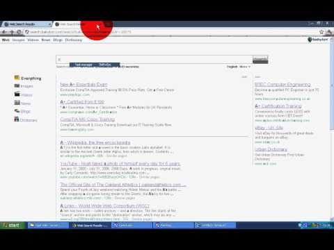 How to Remove Babylon Toolbar/Search (EASY WAY)